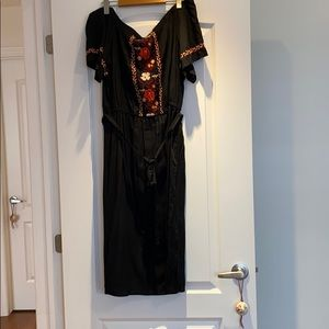 Off the shoulders dress